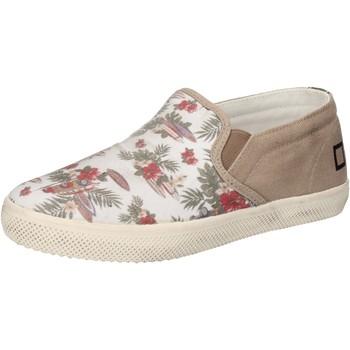 Cipők Lány Belebújós cipők Date AD848 Fehér