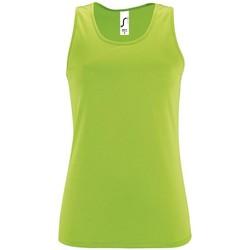 Ruhák Női Trikók / Ujjatlan pólók Sols SPORT TT WOMEN Verde