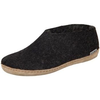 Cipők Női Mamuszok Glerups DK Shoe Charcoal Lammwollfilz Fekete