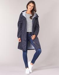 Ruhák Női Parka kabátok Aigle FIRSTRAIN Tengerész
