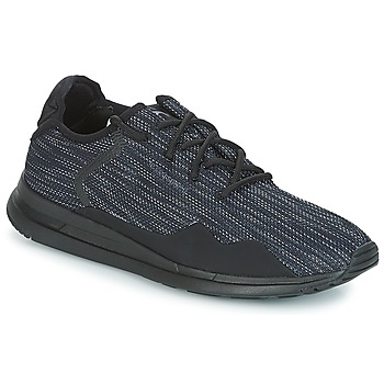 Cipők Férfi Rövid szárú edzőcipők Le Coq Sportif SOLAS PREMIUM Tripla / Fekete