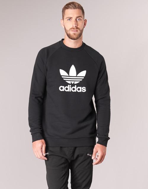 6664dafe13e0 adidas Originals TREFOIL CREW Fekete - Ingyenes Kiszállítás ...
