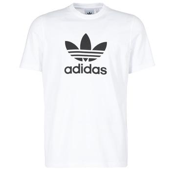 Ruhák Férfi Rövid ujjú pólók adidas Originals TREFOIL T-SHIRT Fehér