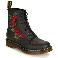 Cipők Női Csizmák Dr Martens 1460 VONDA Fekete