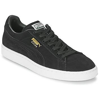 Cipők Rövid szárú edzőcipők Puma SUEDE CLASSIC Fekete