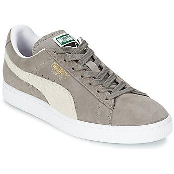 Cipők Rövid szárú edzőcipők Puma SUEDE CLASSIC Szürke