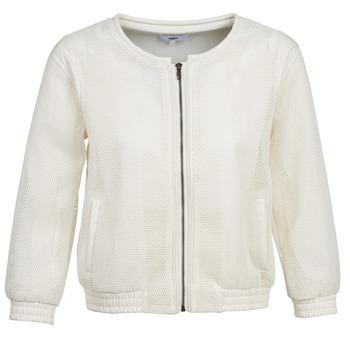 Ruhák Női Kabátok / Blézerek Suncoo DANA Fehér