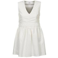 Ruhák Női Rövid ruhák Suncoo CAGLIARI Fehér