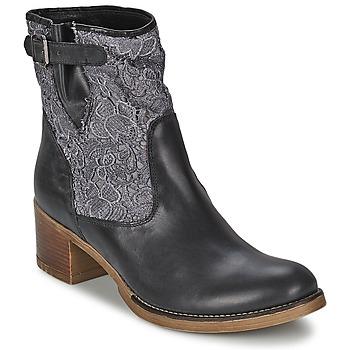 Cipők Női Bokacsizmák Meline ALESSANDRA Fekete