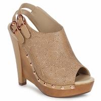 Cipők Női Klumpák Zandra Rhodes BROWNWYN Homokszín