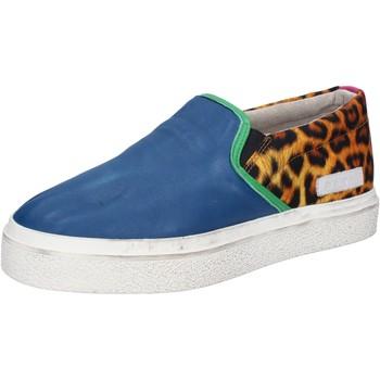 Cipők Női Belebújós cipők Date AB540 Kék