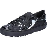 Cipők Női Rövid szárú edzőcipők Date AB561 Fekete