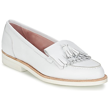 Cipők Női Mokkaszínek Elia B ALPHA Fehér