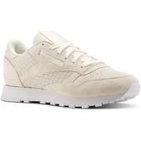 Cipők Női Rövid szárú edzőcipők Reebok Sport CL Lthr Woven Emb