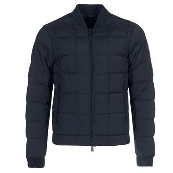 Ruhák Férfi Steppelt kabátok Emporio Armani REWA Tengerész