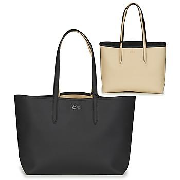Táskák Női Bevásárló szatyrok / Bevásárló táskák Lacoste ANNA Fekete  / Bézs