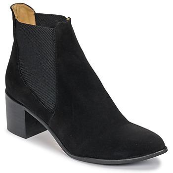 Cipők Női Bokacsizmák Emma Go GUNNAR Fekete