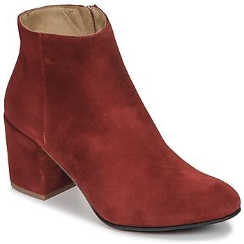 Cipők Női Bokacsizmák Emma Go ELNA Piros
