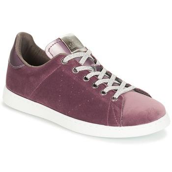 Cipők Női Rövid szárú edzőcipők Victoria DEPORTIVO TERCIOPELO Lila