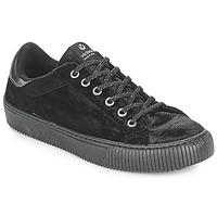 Cipők Női Rövid szárú edzőcipők Victoria DEPORTIVO TERCIOPELO Fekete
