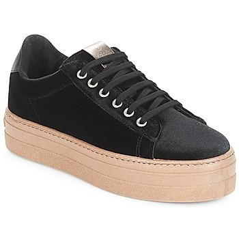 Cipők Női Rövid szárú edzőcipők Victoria DEPORTIVO TERCIOPELO/CARAM Fekete