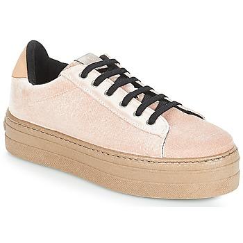 Cipők Női Rövid szárú edzőcipők Victoria DEPORTIVO TERCIOPELO/CARAM Bézs