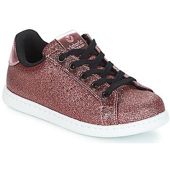 Cipők Lány Rövid szárú edzőcipők Victoria DEPORTIVO METAL CREMALLERA Rózsaszín
