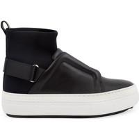 Cipők Női Magas szárú edzőcipők Pierre Hardy NS02 SLIDER FUSION nero