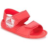 Cipők Lány Szandálok / Saruk adidas Originals ALTASWIM C Rózsaszín
