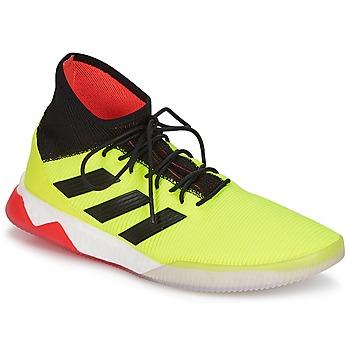 Cipők Férfi Foci adidas Originals PREDATOR TANGO 18.1 TR Citromsárga / Fekete  / Piros