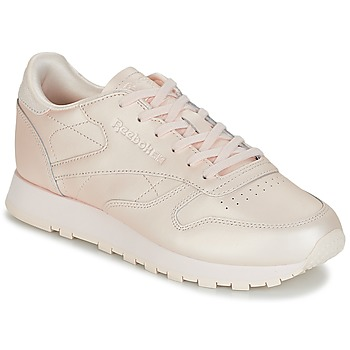 Cipők Női Rövid szárú edzőcipők Reebok Classic CLASSIC LEATHER Rózsaszín