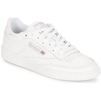 Cipők Női Rövid szárú edzőcipők Reebok Classic CLUB C 85 Fehér