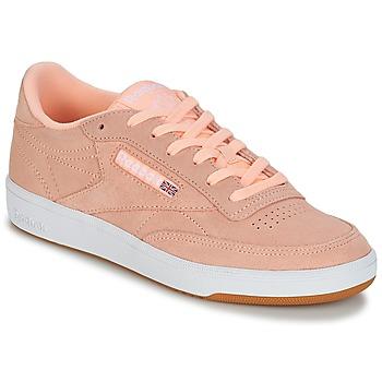 Cipők Női Rövid szárú edzőcipők Reebok Classic CLUB C 85 Rózsaszín
