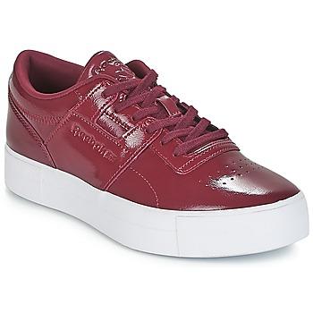 Cipők Női Rövid szárú edzőcipők Reebok Classic WORKOUT LO FVS Bordó