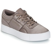 Cipők Női Rövid szárú edzőcipők Reebok Classic WORKOUT LO FVS TXT Szürke
