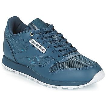 Cipők Gyerek Rövid szárú edzőcipők Reebok Classic CLASSIC LEATHER J Tengerész