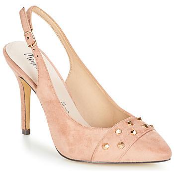 Cipők Női Szandálok / Saruk Menbur DINITARSA Bézs / Rózsaszín