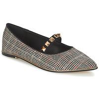 Cipők Női Balerina cipők  Menbur DOUMIER Fekete  / Piros