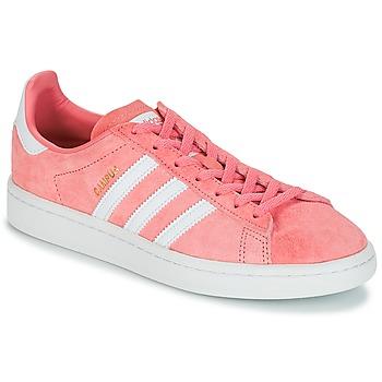 Cipők Női Rövid szárú edzőcipők adidas Originals CAMPUS W Rózsaszín