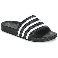 Cipők strandpapucsok adidas Originals ADILETTE Fekete  / Fehér