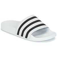 Cipők strandpapucsok adidas Originals ADILETTE Fehér / Fekete
