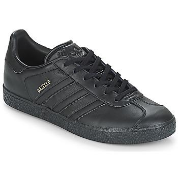 Cipők Gyerek Rövid szárú edzőcipők adidas Originals GAZELLE J Fekete