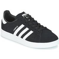 Cipők Gyerek Rövid szárú edzőcipők adidas Originals CAMPUS C Fekete