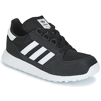 Cipők Gyerek Rövid szárú edzőcipők adidas Originals OREGON C Fekete