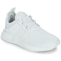 Cipők Gyerek Rövid szárú edzőcipők adidas Originals X_PLR J Fehér