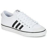 Cipők Rövid szárú edzőcipők adidas Originals NIZZA Fehér / Fekete