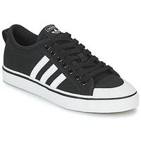 Cipők Rövid szárú edzőcipők adidas Originals NIZZA Fekete  / Fehér