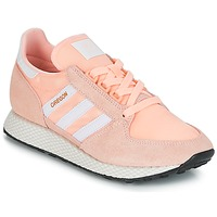 Cipők Női Rövid szárú edzőcipők adidas Originals OREGON W Rózsaszín