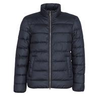 Ruhák Férfi Steppelt kabátok Geox WELLS Tengerész