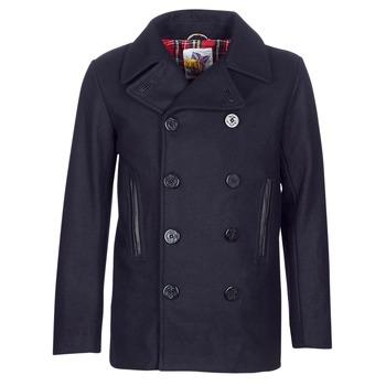 Ruhák Férfi Kabátok Harrington PCOAT Tengerész